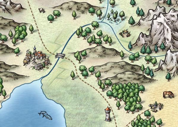 CC3 Sample Map