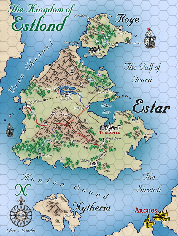 Profantasy S Map Making Journal Blog Archive User Maps The Summer