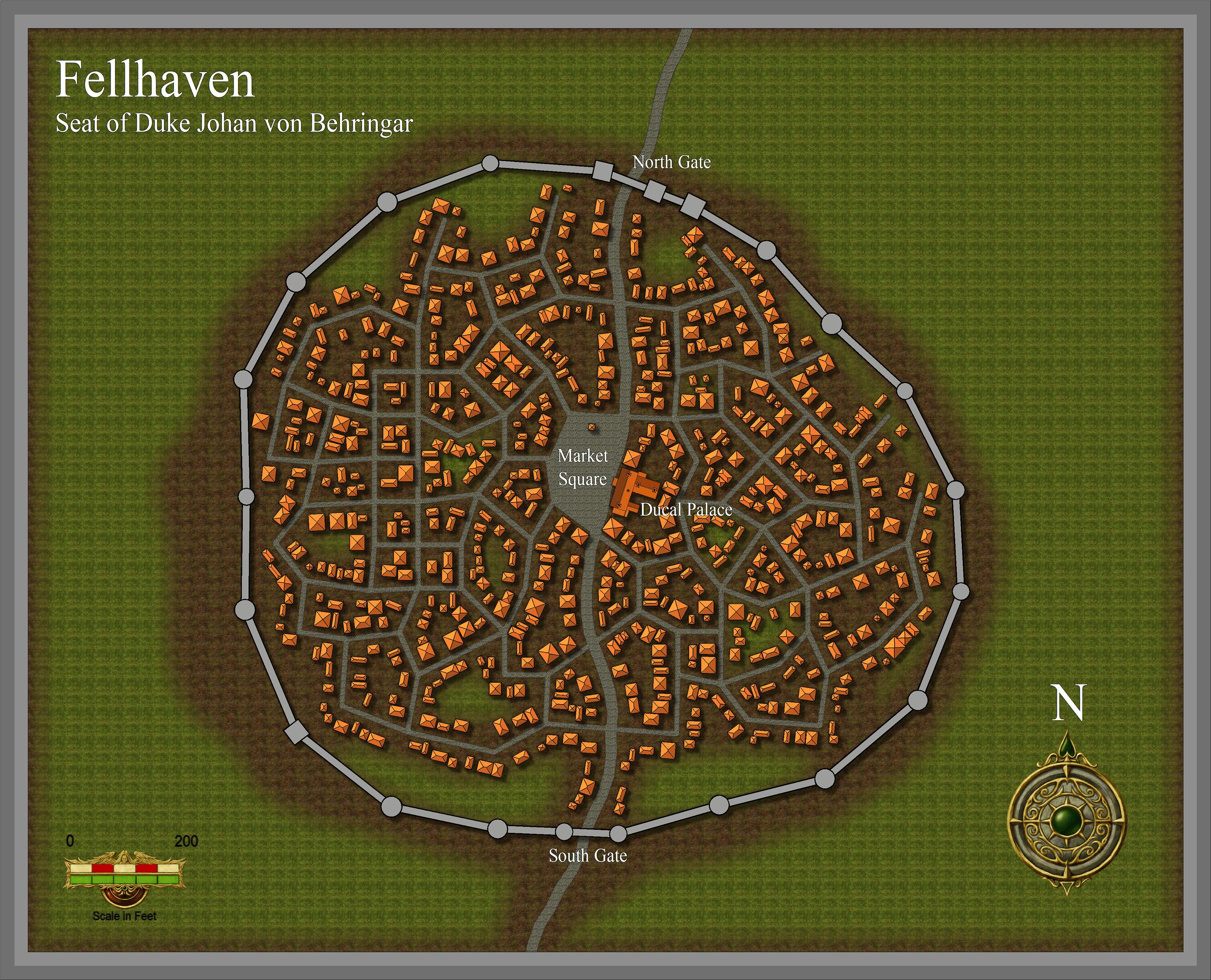 Profantasy's Map-making Journal » Random City Generator