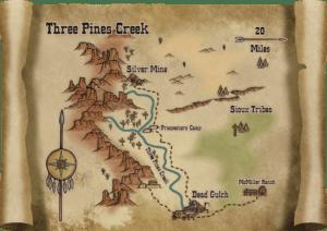 CA132A Three Pines Creek