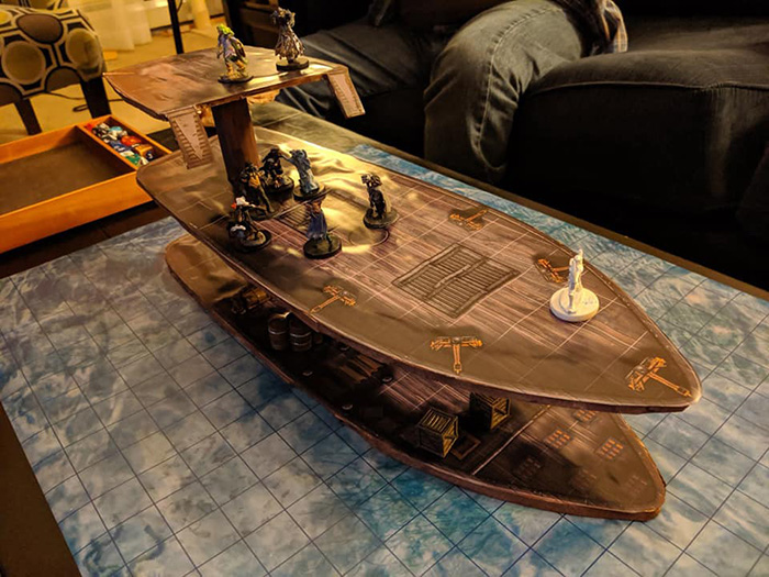 Ship Model by Christina Trani (Lorelei)