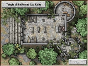 Temple of the Horned God