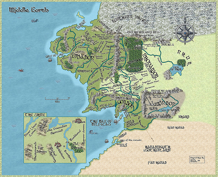 Middle Earth by Jon Munson II