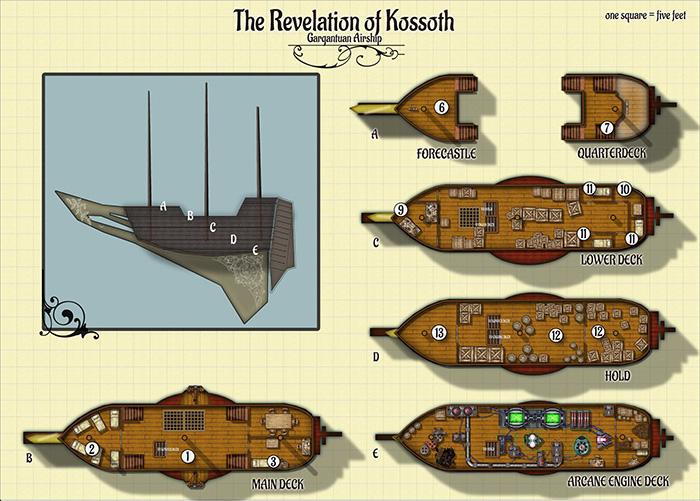 Revelation of Kossoth by Mark Olsen