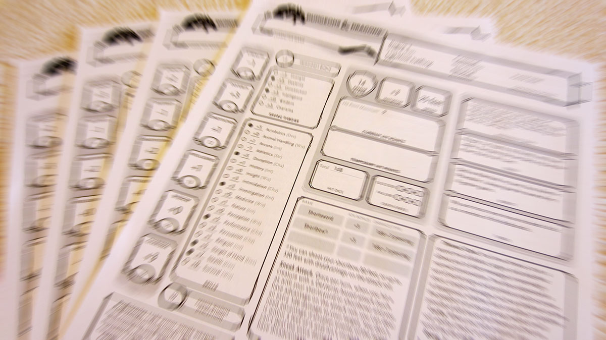 Roteiro de Criação de Personagens do D&D 5e - RPG Next