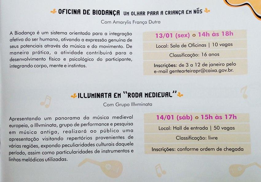 """Oficina de Biodança e Illuminata em """"Roda Medieval"""""""