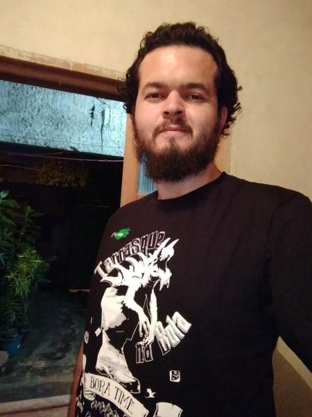Padrinho Jonathan Villas Boas com camiseta