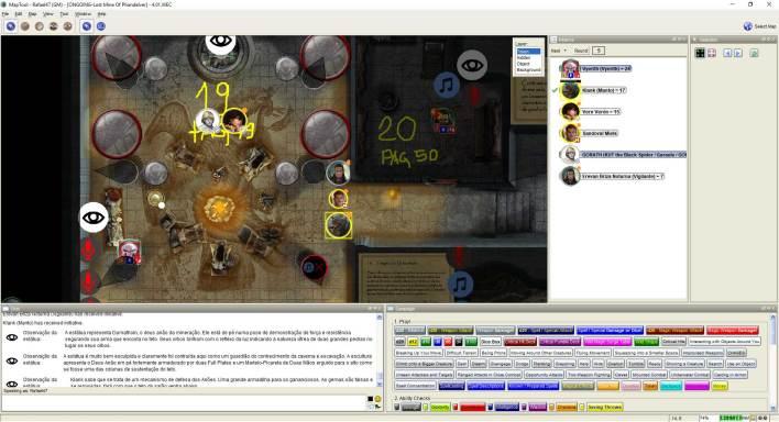 Imagem do Maptool - Encontro com GORATH