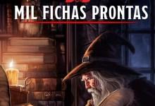 Photo of Mil fichas prontas simplificadas de personagens para D&D 5e
