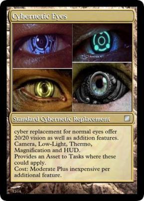 Cybernetic Eyes