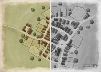 town fantasy generic maps daniel rpg