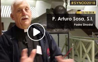 Desde el Sínodo, P. Arturo Sosa, superior Jesuitas Venezuela