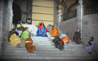 Domingo Ramos B,  Cada personaje me señala, sólo Jesús me guía – Juan Carlos de la Riva