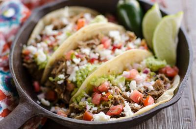 Pork Carnitas Street Tacos The Creative Bite 3 copy