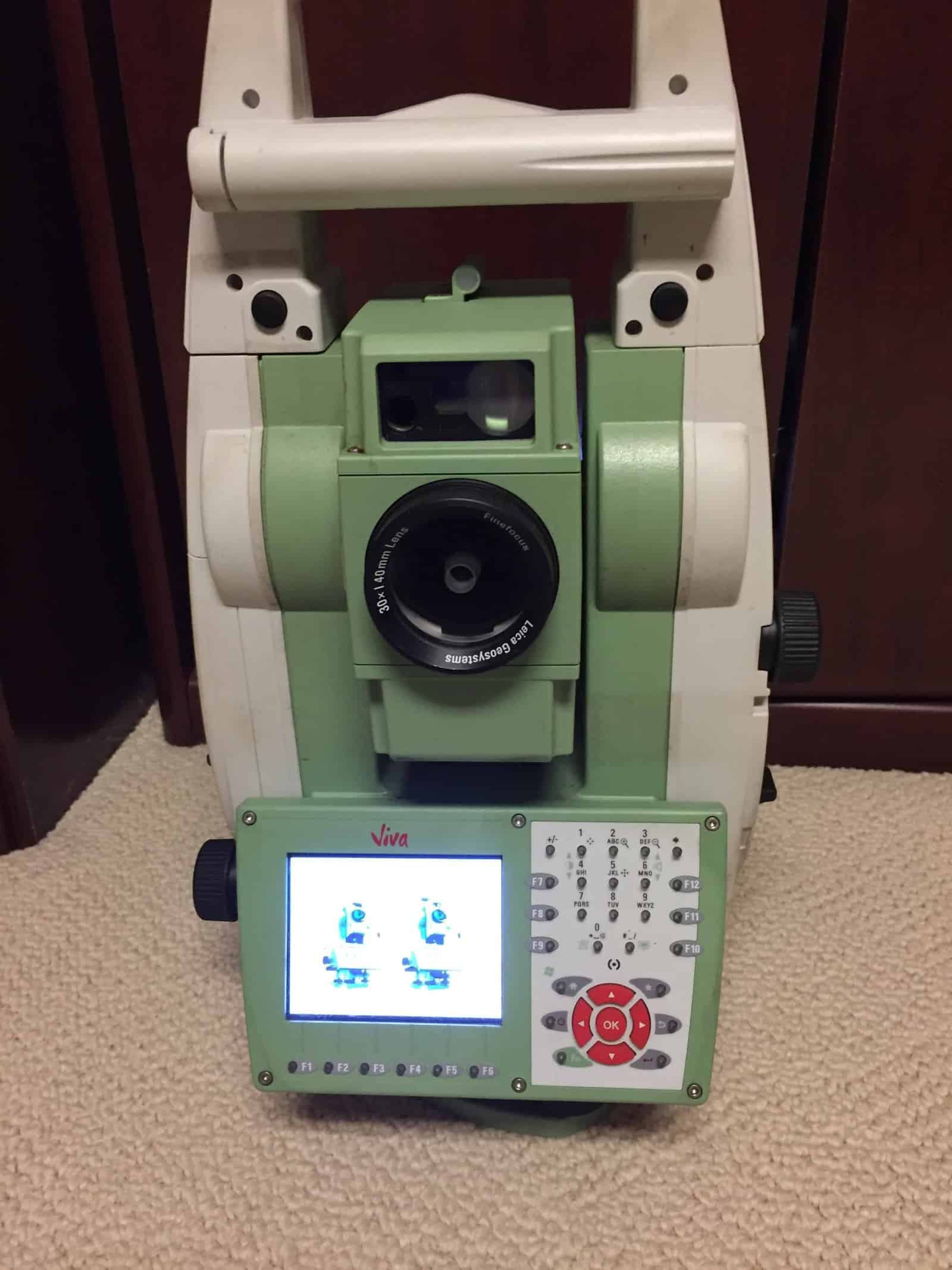 "TS15 I, 3"" (1.5 mgon) R1000 total station with 5 MP wide angle camera,  PowerSearch, automatic target aiming, reflectorless R1000 EDM, electronic  guide light ..."