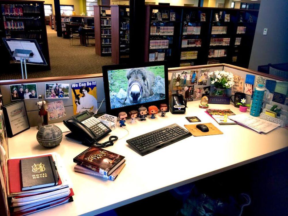 my crazy desk