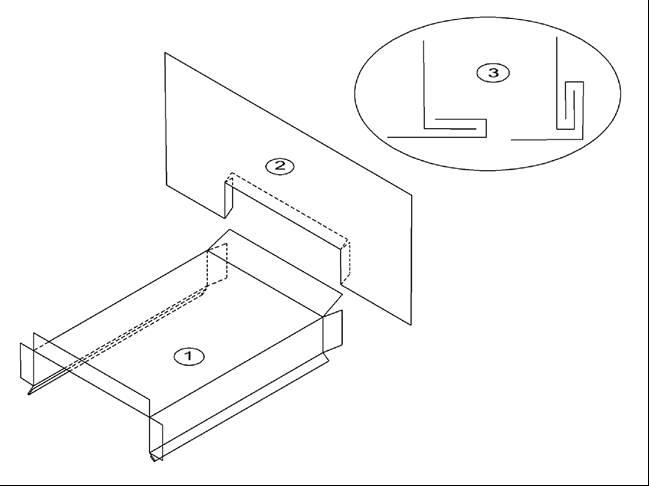 MF Details:G1.7.3 Metal Flashings (Parapet-to-Wall