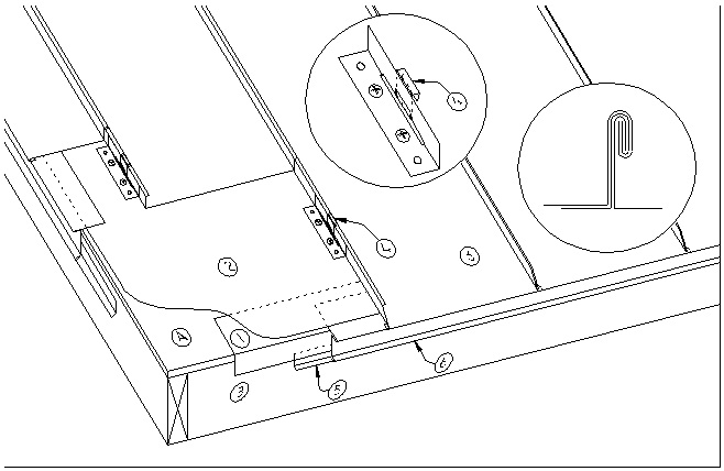 ASM Details:E1.7.17 (Copper Standing Seam Systems Eave