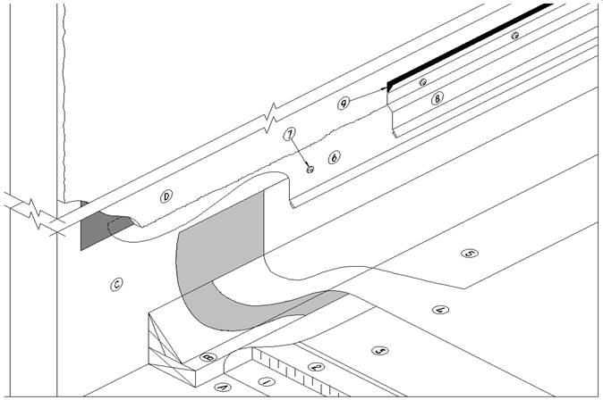 Roofing Reglet & Reglet Mounted Counterflashing