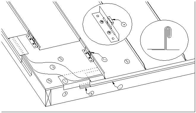 ASM Details:E1.7.18 (Zinc Standing Seam Systems Eave