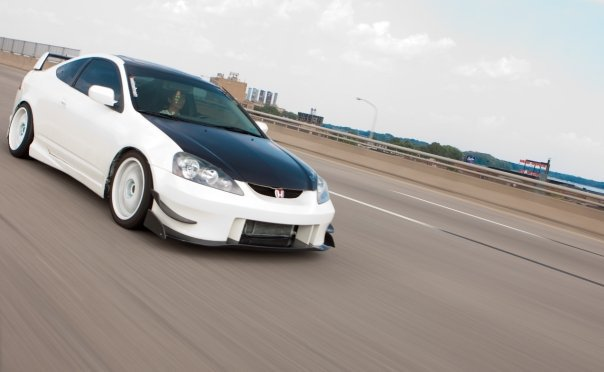 beautiful simple white acura rsx dc5 done right strait
