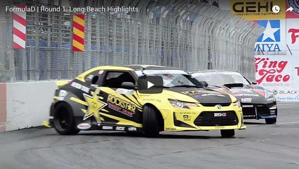 Formula D   Round 1: Long Beach Highlights