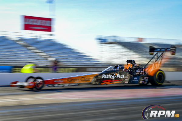 Millican best qualifier in Top Fuel