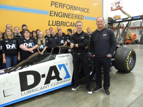 Jordan Vandergriff to race for BVR in Top Fuel