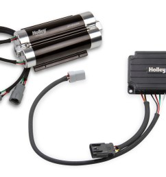 holley dominator brushless fuel pump w controller single 10an inlet [ 2736 x 1932 Pixel ]