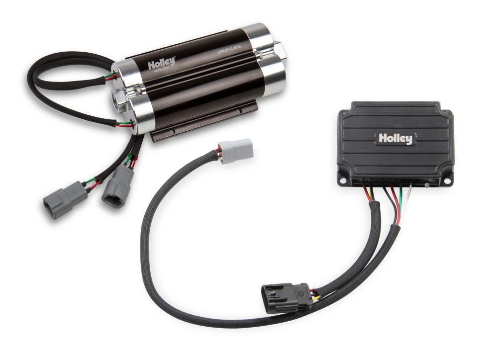 medium resolution of  holley dominator brushless fuel pump w controller single 10an inlet