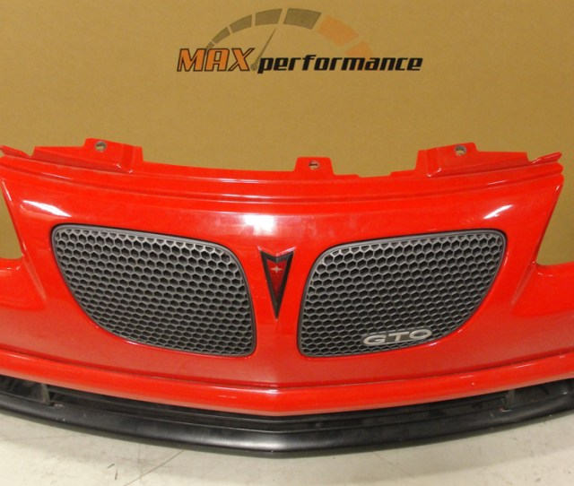Lmp2207k 2004 2006 Pontiac Gto Max Performance Kidney Upper Grilles Reproduction
