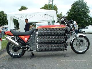 motor dengan silinder terbanyak
