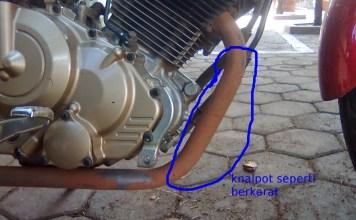 Cara Menghilangkan Karat di Motor