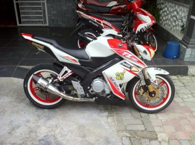 Galeri Modifikasi Yamaha New Vixion fighter