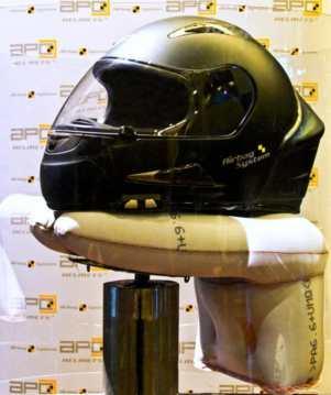 Helm pakai Airbag