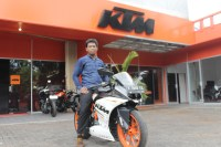 Review KTM RC250, Torsinya Badak 1
