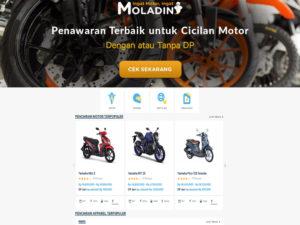 Moladin Luncurkan Websitenya !