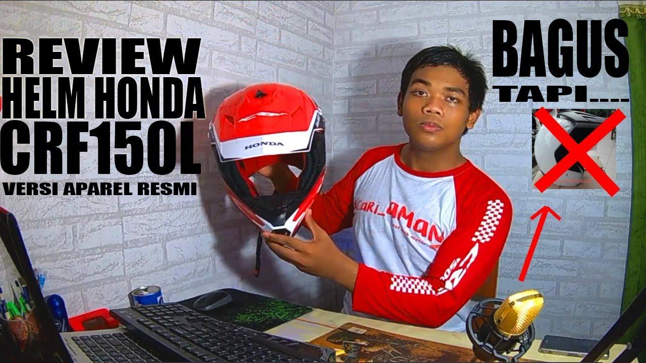 Review Helm Honda CRF150L Versi Apparel
