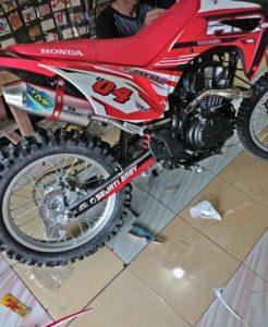 Knalpot Racing Honda CRF150L 3