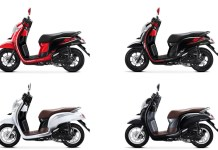 Pilihan Warna Honda Scoopy 2018