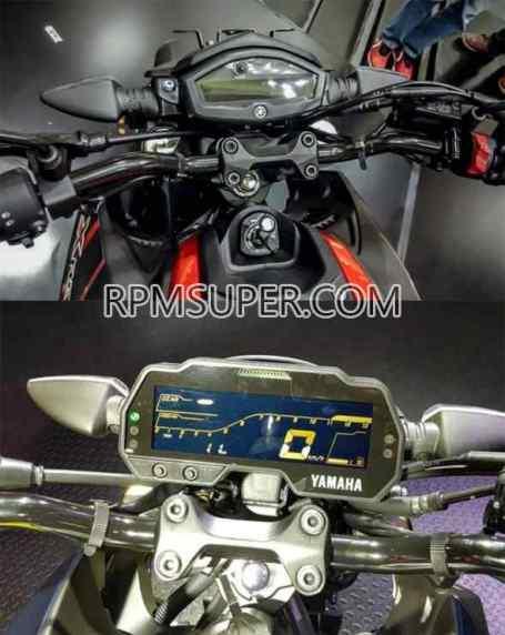 speedometer xabre vs mt15