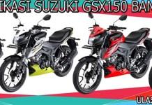 Spesifikasi Suzuki GSX150 Bandit