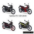 warna baru Suzuki Satria F150 2018