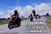 Touring dan Launching Suzuki Bandit di Manado