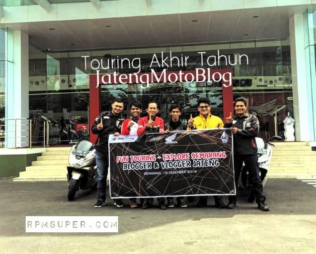 ouring Akhir Tahun JatengMotoBlog