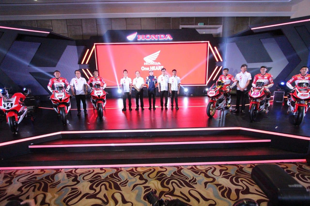Daftar Pembalap Astra Honda Racing Team