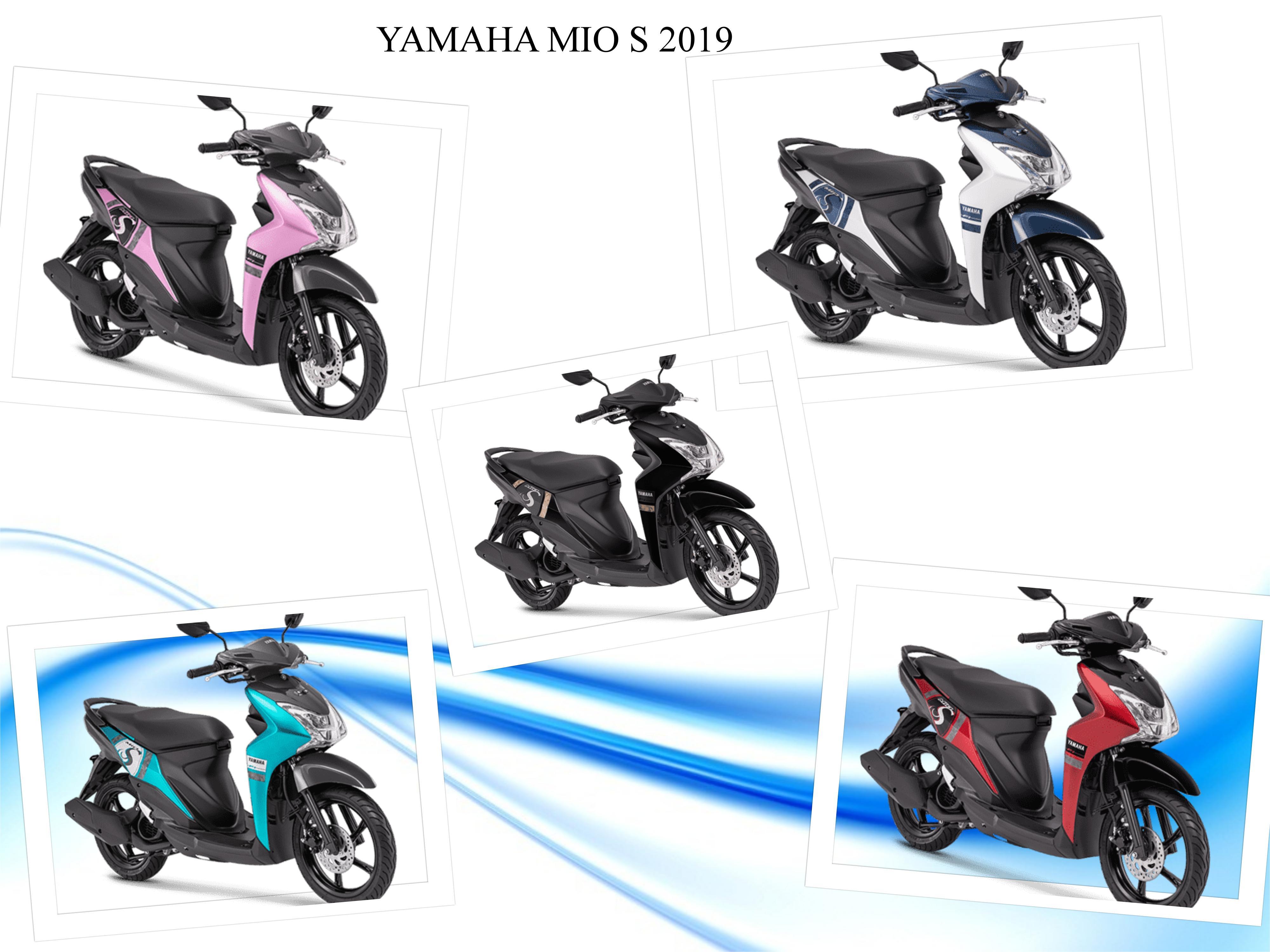 Yamaha Mio S 2019