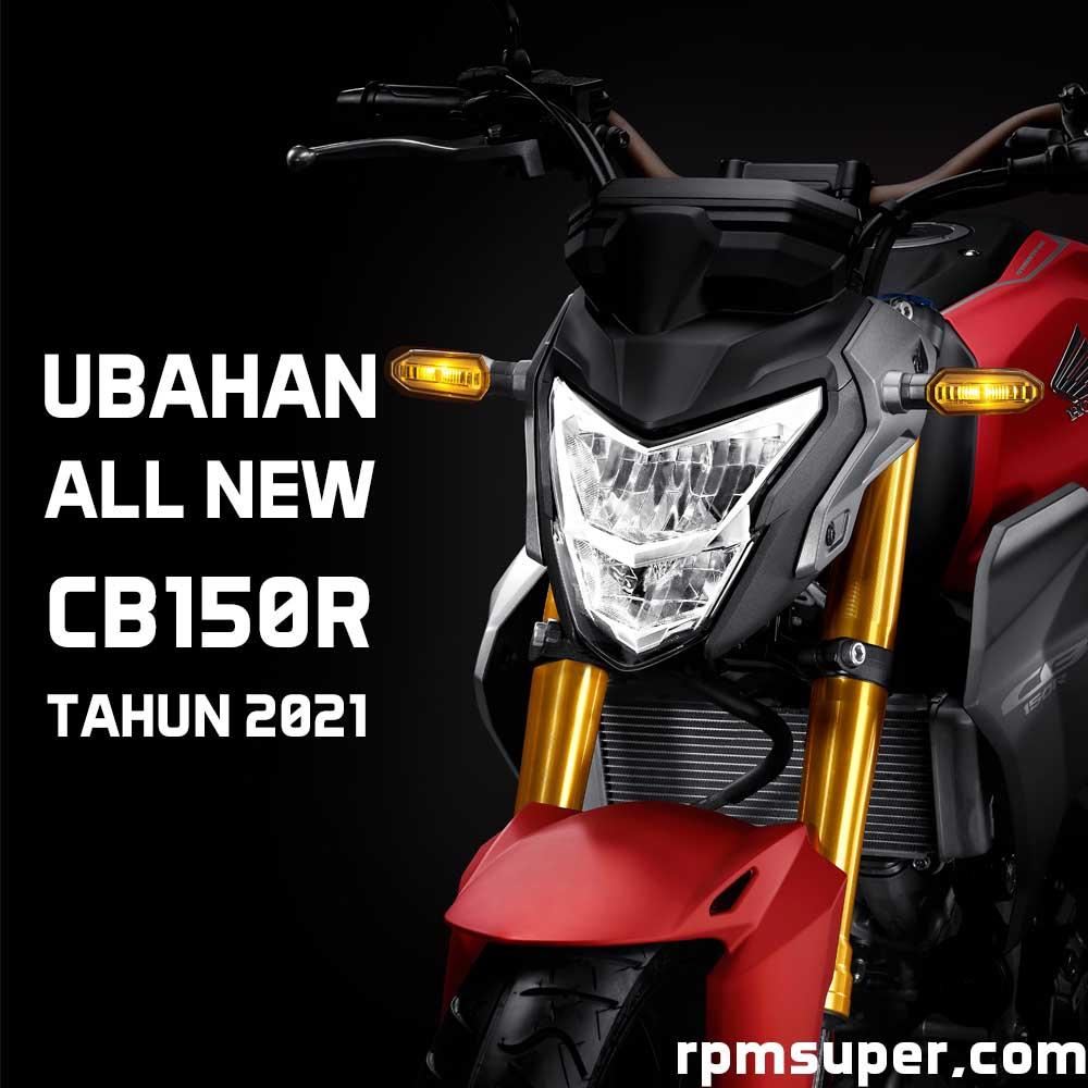 Perubahan Honda CB150R 2021