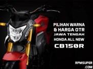 Harga Honda CB150R 2021 Jawa Tengah
