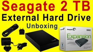 seagate external hdd
